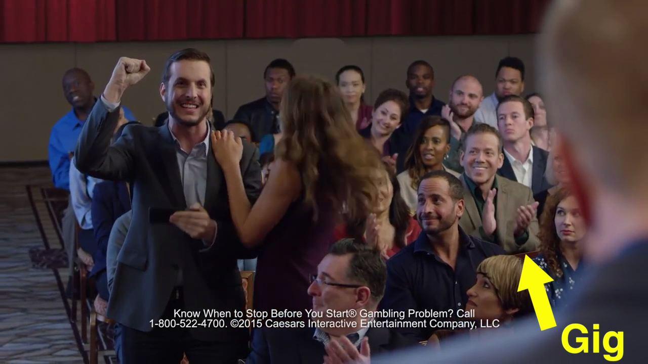 Gig Schmidt actor, WSOP TV Commercial, October 18, 2018