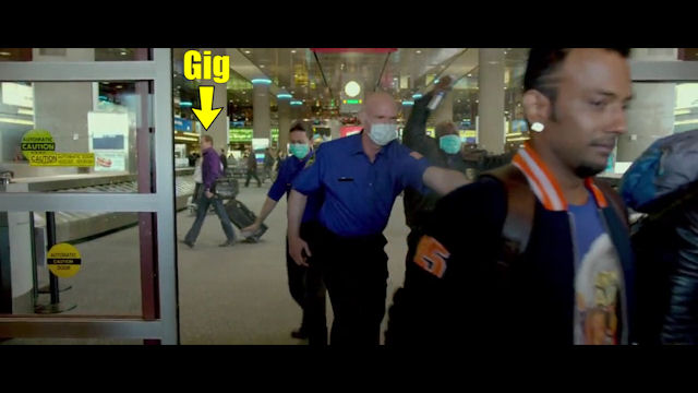 Gig Schmidt, actor in Any Body Can Dance 2, January 16, 2015 (L)