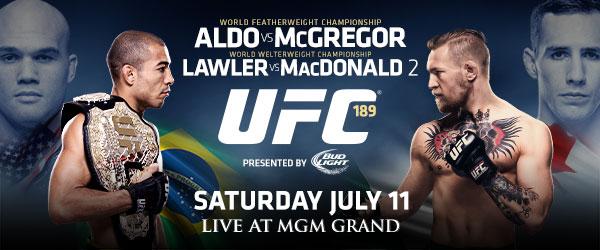 Gig Schmidt background actor for UFC 189 PPV Video Promo