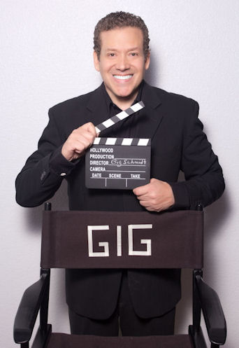 Gig_Schmidt, Clapper and Directors Chair, Black Suit, February 21, 2015