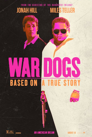 War Dogs movie poster image