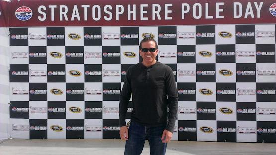 Gig Schmidt, NASCAR Victory Lane, Kobalt 400 Practice Session, LVMS, March 3, 2016 2
