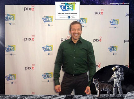 Gig Schmidt, CES 2015, Las Vegas Convention Center, January 9, 2015