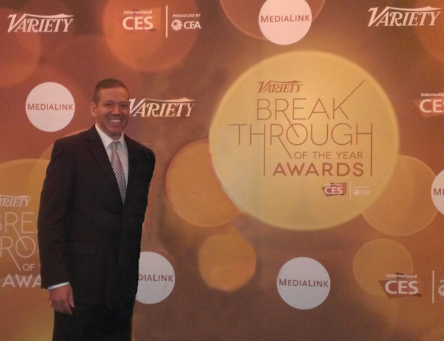 Gig Schmidt, Variety Break Through of The Year Awards, CES 2014, LVH, January 9, 2014
